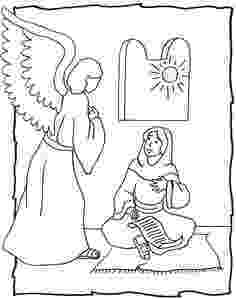 gabriel visits mary coloring page 13 angel gabriel coloring page bible story coloring page coloring page mary gabriel visits