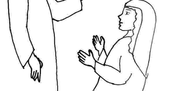 gabriel visits mary coloring page 48 mary and gabriel coloring page annunciation and mary visits gabriel page coloring