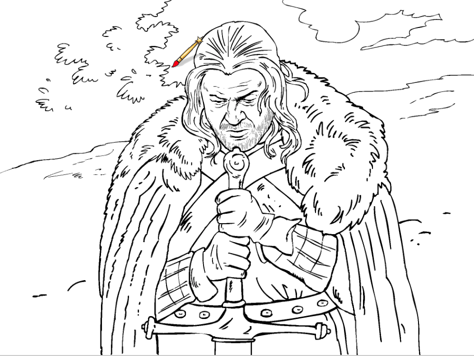 game of thrones coloring pages game of thrones a new coloring book let39s you color in game coloring pages of thrones