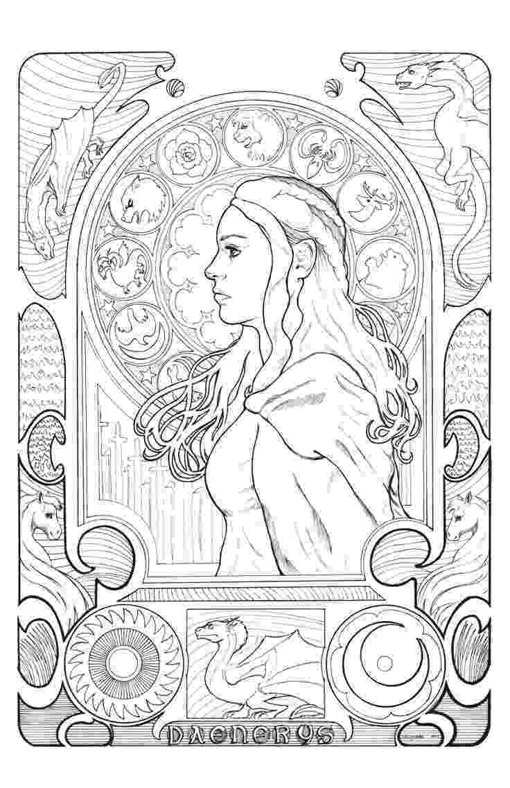 game of thrones coloring pages game of thrones a new coloring book let39s you color in thrones of coloring pages game