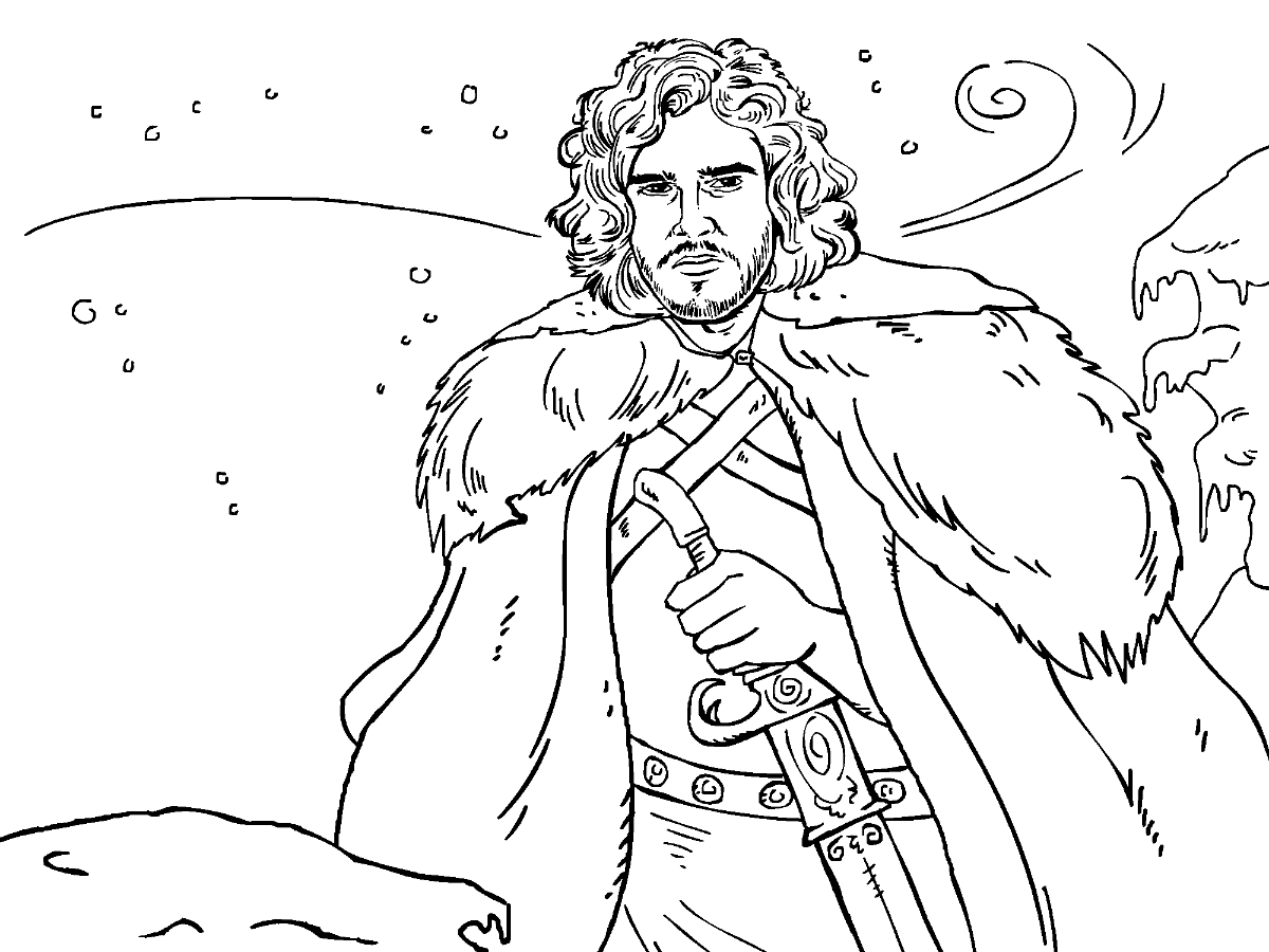 game of thrones coloring pages game of thrones colouring in page john snow colouring thrones coloring game of pages