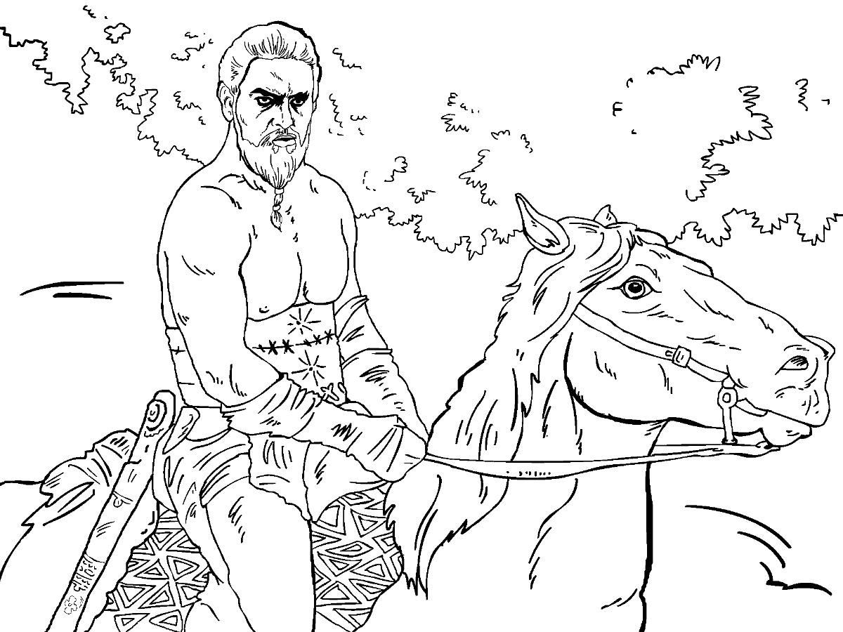game of thrones coloring pages game of thrones colouring in page khal drogo colouring of thrones pages game coloring