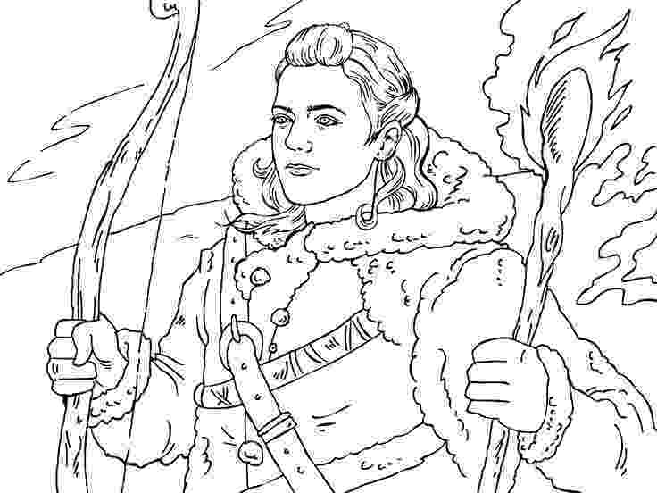 game of thrones coloring pages game of thrones colouring in page ygritte adult pages of thrones coloring game