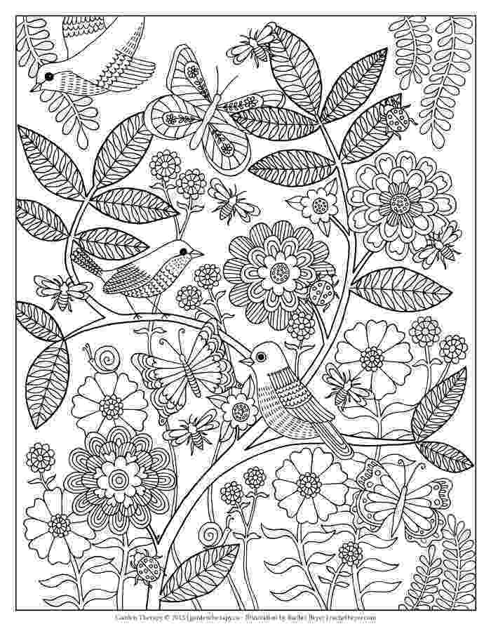 gardening colouring pages lifes a garden adult coloring page pages gardening colouring
