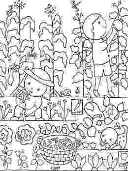gardening colouring sheets garden coloring pages for kids new house design sheets gardening colouring