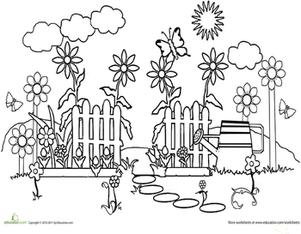 gardening colouring sheets lifes a garden adult coloring page colouring sheets gardening