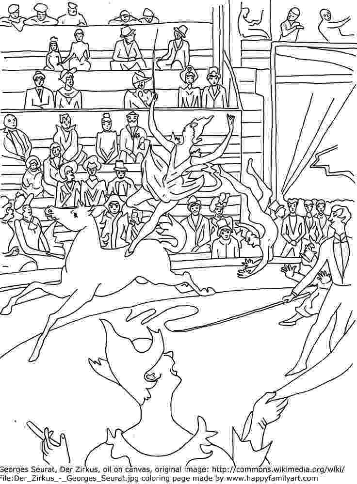 george seurat coloring pages happy family art original and fun coloring pages coloring george pages seurat
