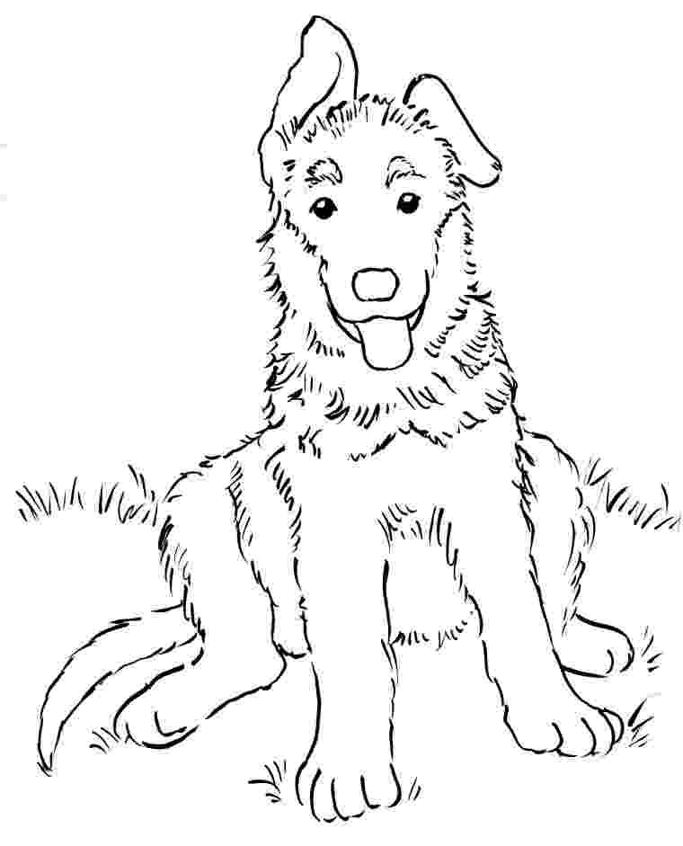german shepherd coloring pages printable german shepherd dog coloring page free printable pages printable coloring german shepherd