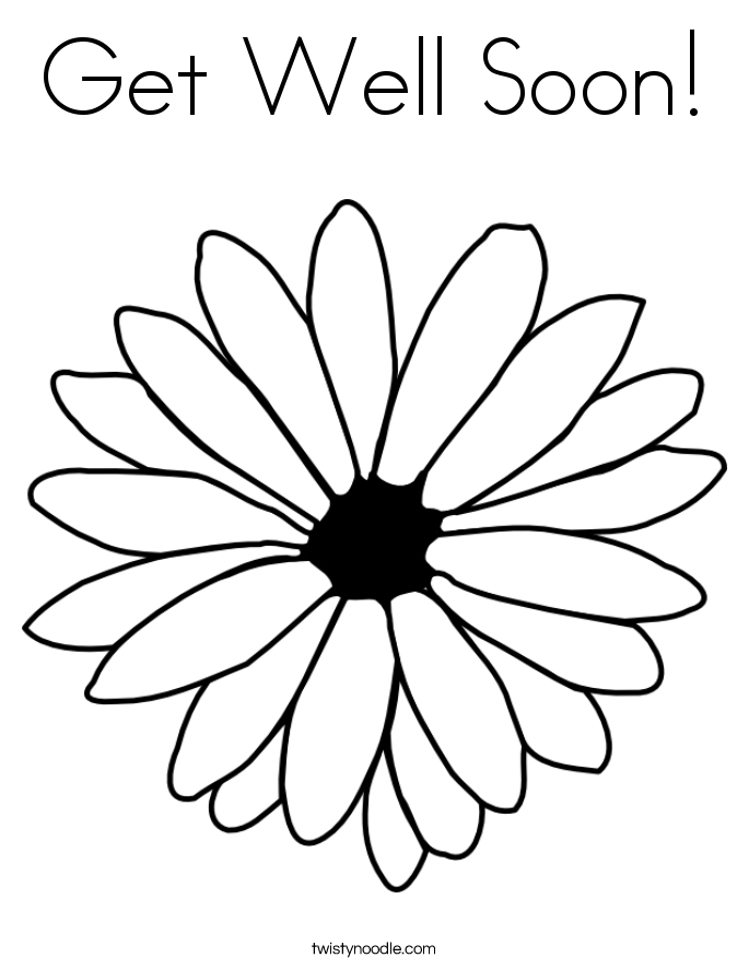 get well soon coloring pages cute get well soon coloring page free printable coloring soon well get coloring pages