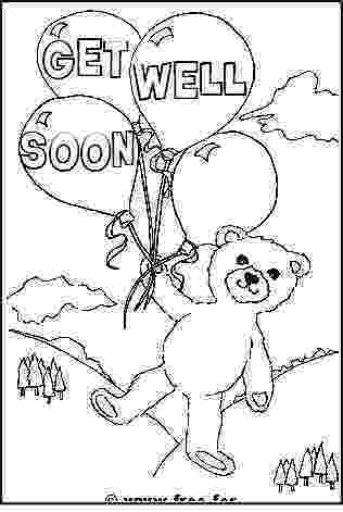 get well soon coloring pages get well soon coloring pages feel better coloringstar well pages get soon coloring