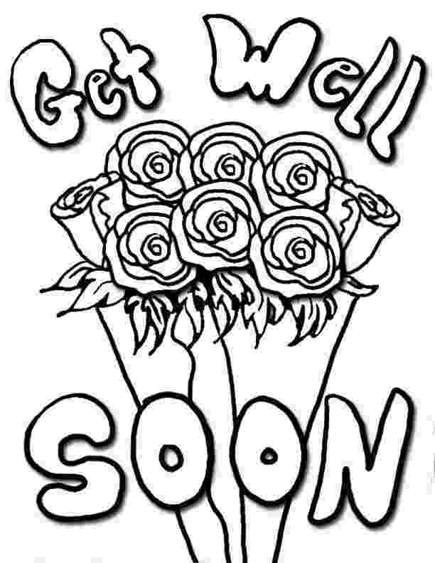 get well soon coloring sheet get well soon coloring pages to download and print for free soon sheet well get coloring