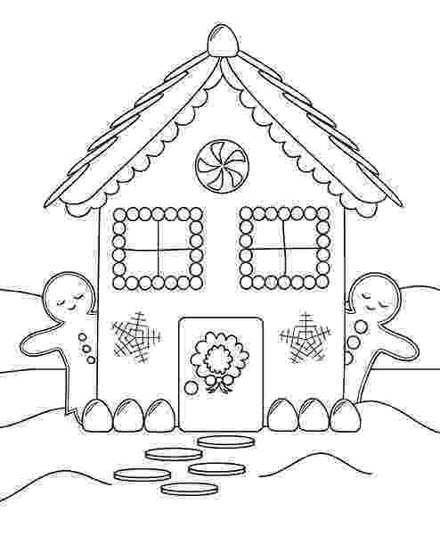 gingerbread house pictures to color 30 free gingerbread house coloring pages printable color to pictures gingerbread house