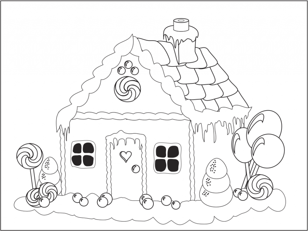 gingerbread house pictures to color free printable gingerbread house coloring pages for kids house pictures color gingerbread to