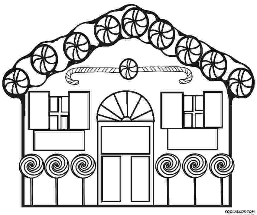 gingerbread house pictures to color free printable house coloring pages for kids to gingerbread pictures color house