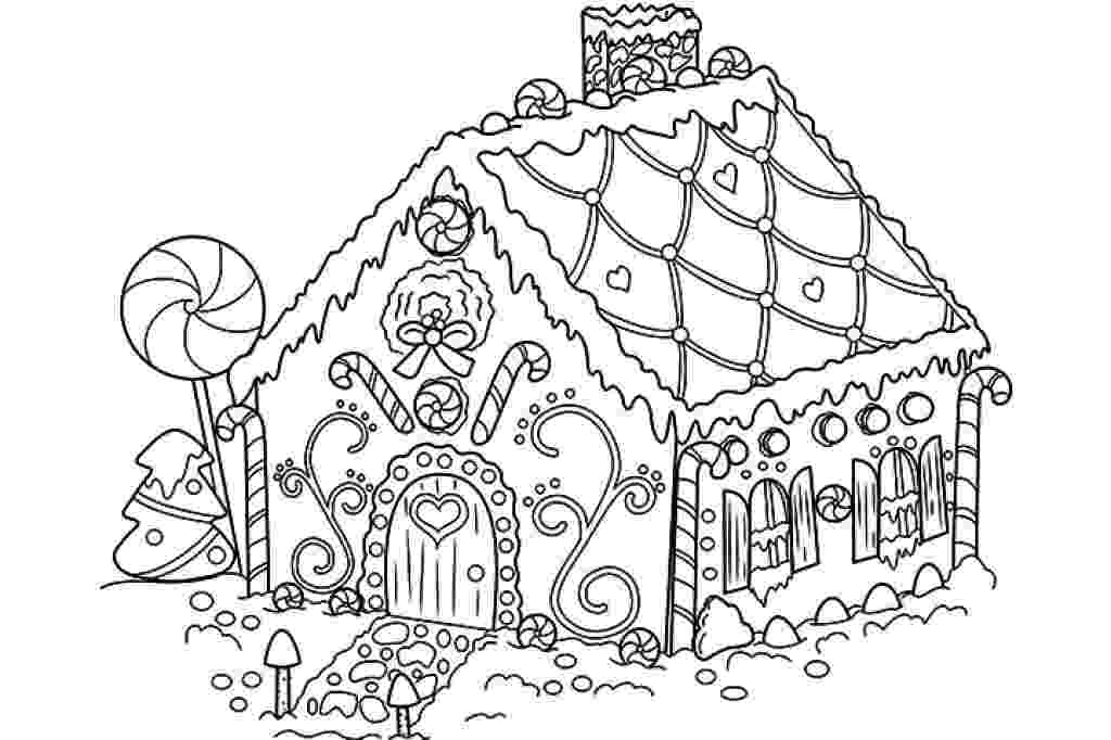 gingerbread house pictures to color gingerbread house coloring christmas download etsy house pictures color gingerbread to