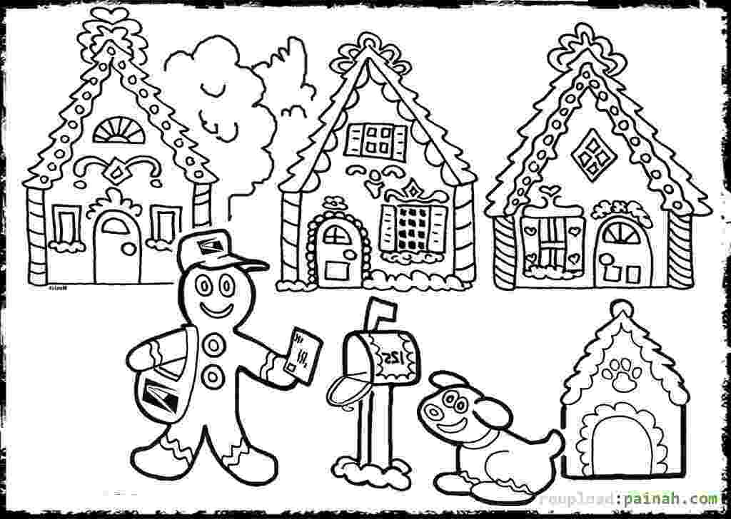 gingerbread house pictures to color gingerbread house coloring page gtgt disney coloring pages to color pictures gingerbread house