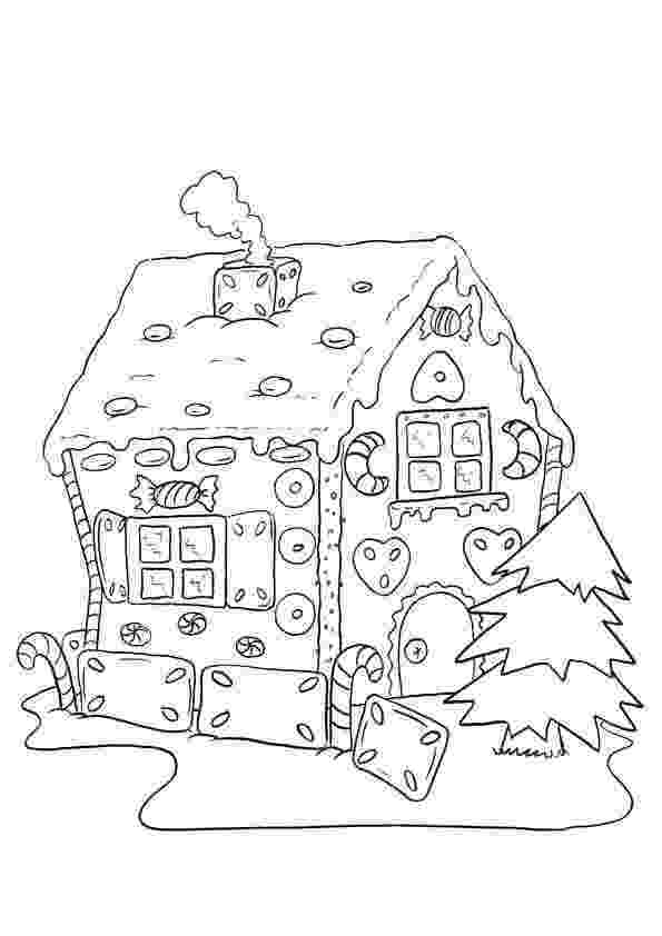 gingerbread house pictures to color gingerbread house coloring pages to download and print for to gingerbread house color pictures