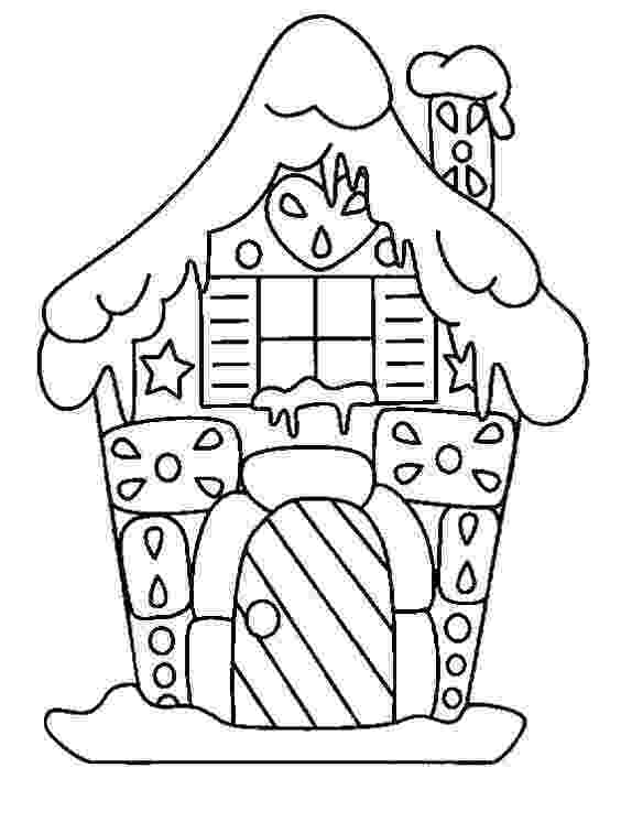 gingerbread house pictures to color gingerbread house pictures to color pictures gingerbread house to color