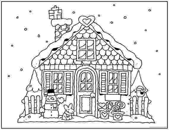 gingerbread house pictures to color printable gingerbread house coloring pages for kids gingerbread color to pictures house
