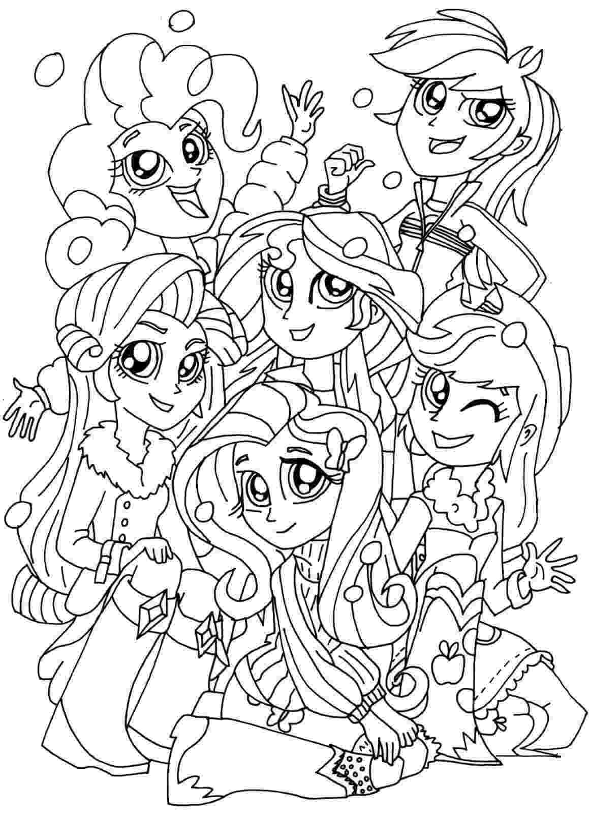 girl coloring sheets 15 printable my little pony equestria girls coloring pages coloring sheets girl