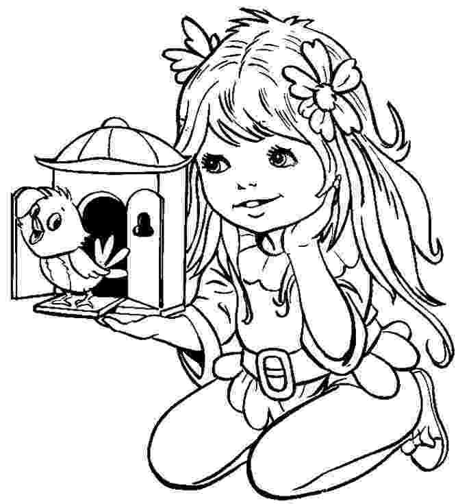 girl coloring sheets beautiful cute girl coloring page wecoloringpagecom sheets coloring girl