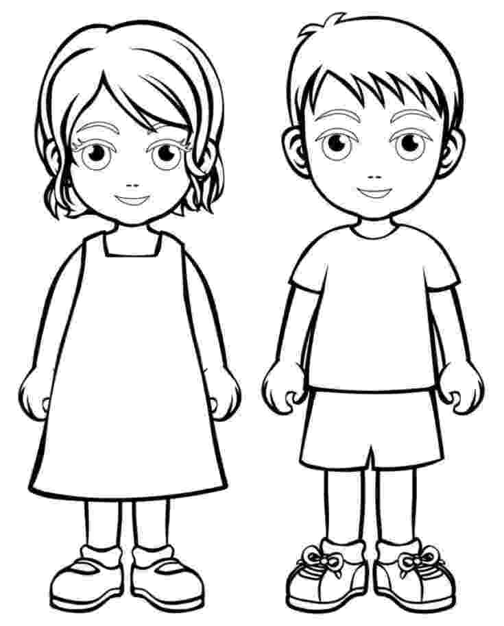girl coloring sheets boy girl coloring page boys and girls wear colouring pages coloring sheets girl