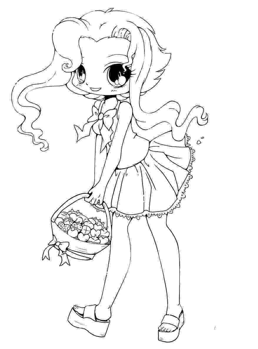 girl coloring sheets chibi coloring pages to download and print for free coloring girl sheets