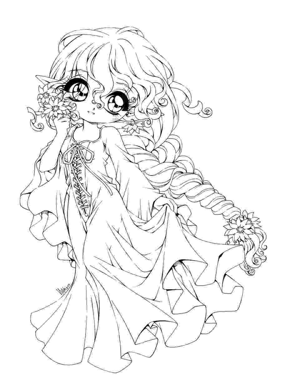 girl coloring sheets chibi coloring pages to download and print for free girl coloring sheets