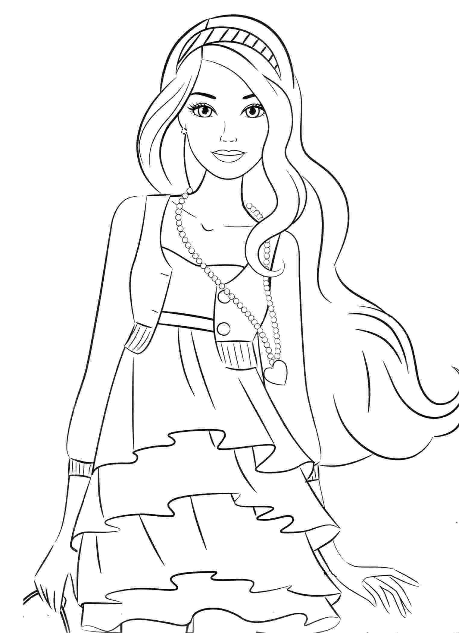 girl colouring pages free girl doll coloring pages girl pages colouring