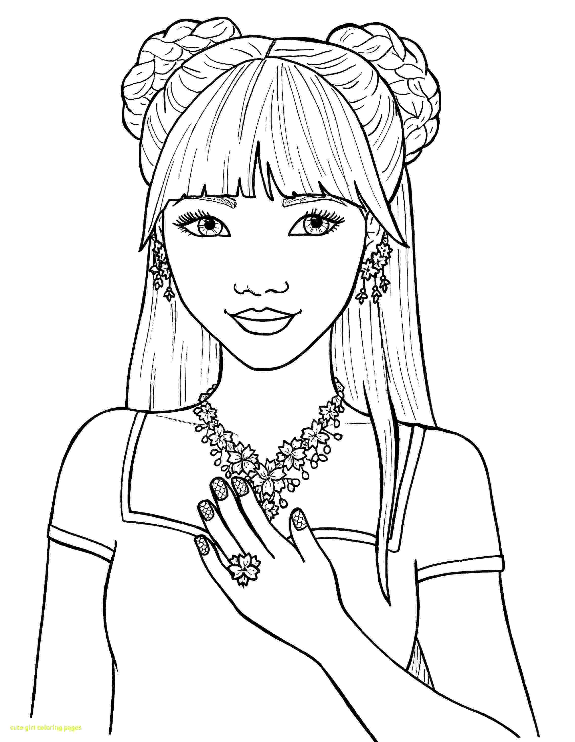 girls coloring pictures cute girl coloring pages to download and print for free coloring pictures girls