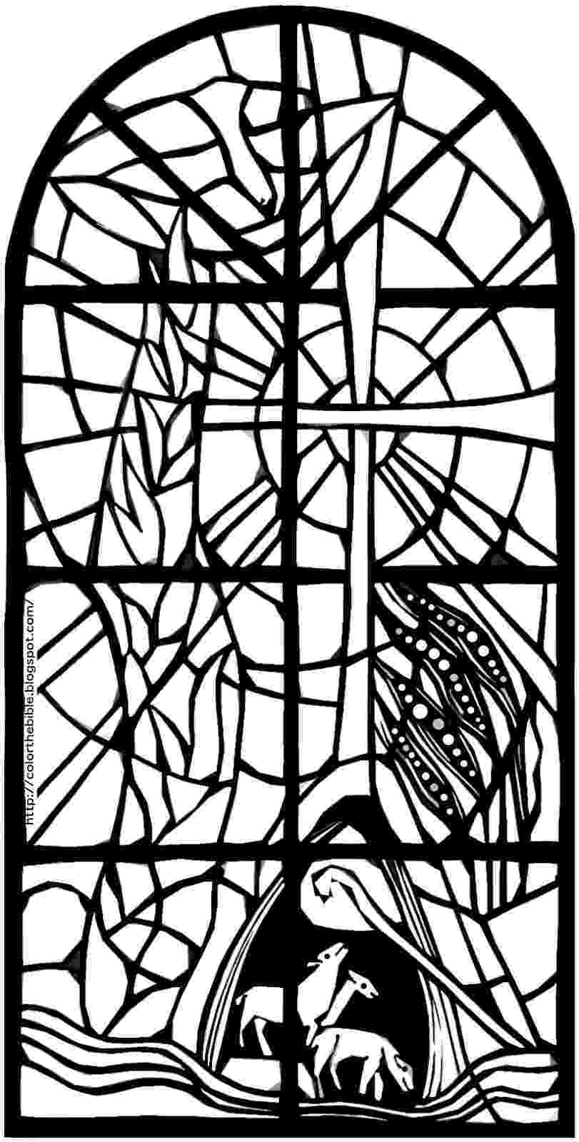 glass coloring page day of pentecost color the bible glass coloring page