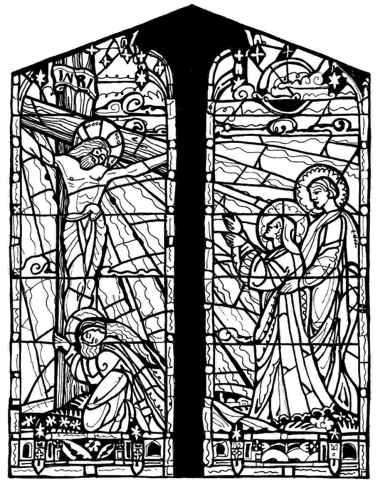 glass coloring page stained glass window coloring pages download and print for glass page coloring