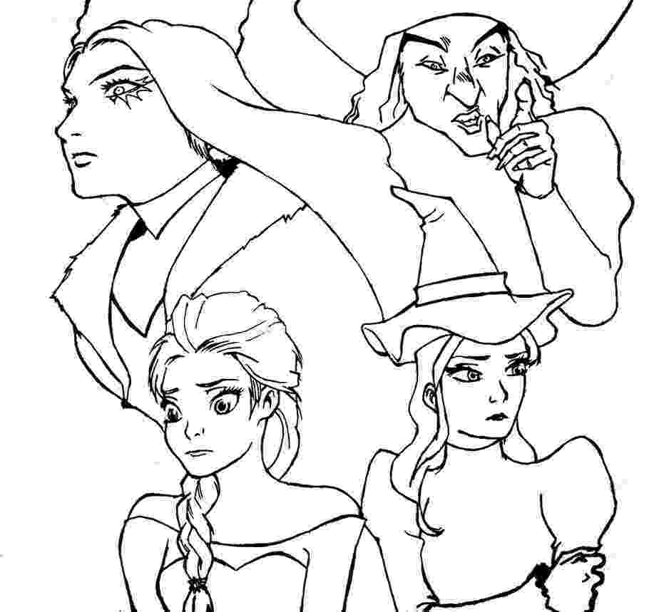 glinda the good witch coloring pages dorothy with glinda the good witch of the north coloring witch coloring glinda the good pages