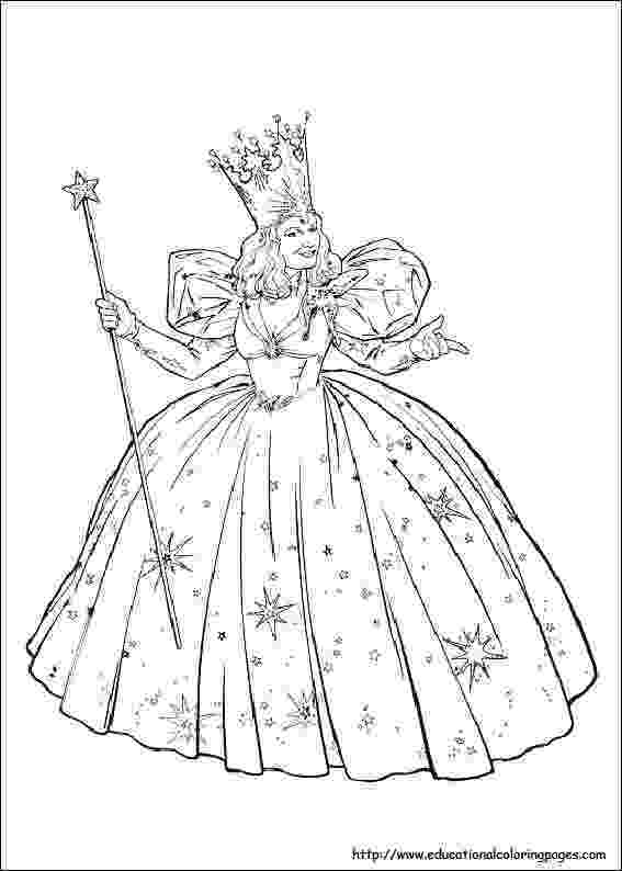 glinda the good witch coloring pages glinda the good witch coloring pages wizard of oz color coloring pages good the witch glinda