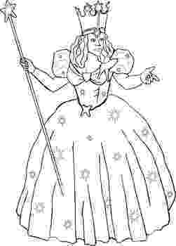 glinda the good witch coloring pages haunted tales sleepy hollowimage thread work glinda the good coloring pages witch