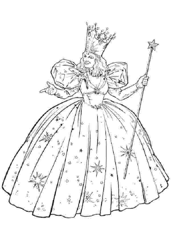 glinda the good witch coloring pages wizard of oz coloring pages online img 671627 witch coloring glinda good pages witch the