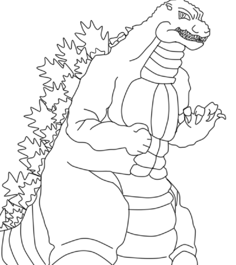 godzilla pictures to print get this printable image of godzilla coloring pages upiui print godzilla pictures to