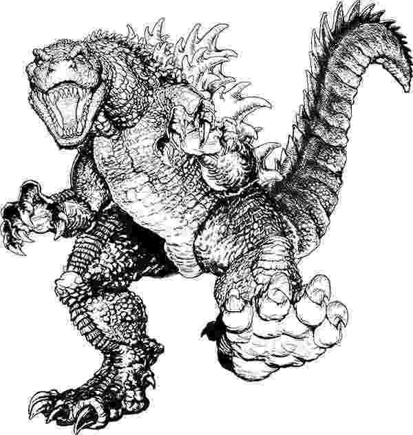 godzilla pictures to print godzilla coloring pages to download and print for free to pictures print godzilla