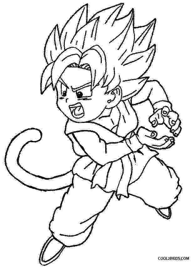 goku printable coloring pages goku coloring pages to download and print for free pages goku coloring printable 1 1