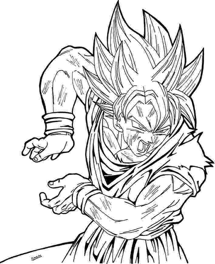 goku printable coloring pages goku super saiyan 1 coloring pages coloring pages free goku printable pages coloring