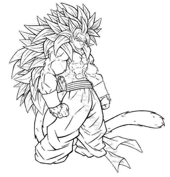goku super saiyan 4 coloring pages pin by adam bobst on line art anime super coloring saiyan goku 4 pages coloring super