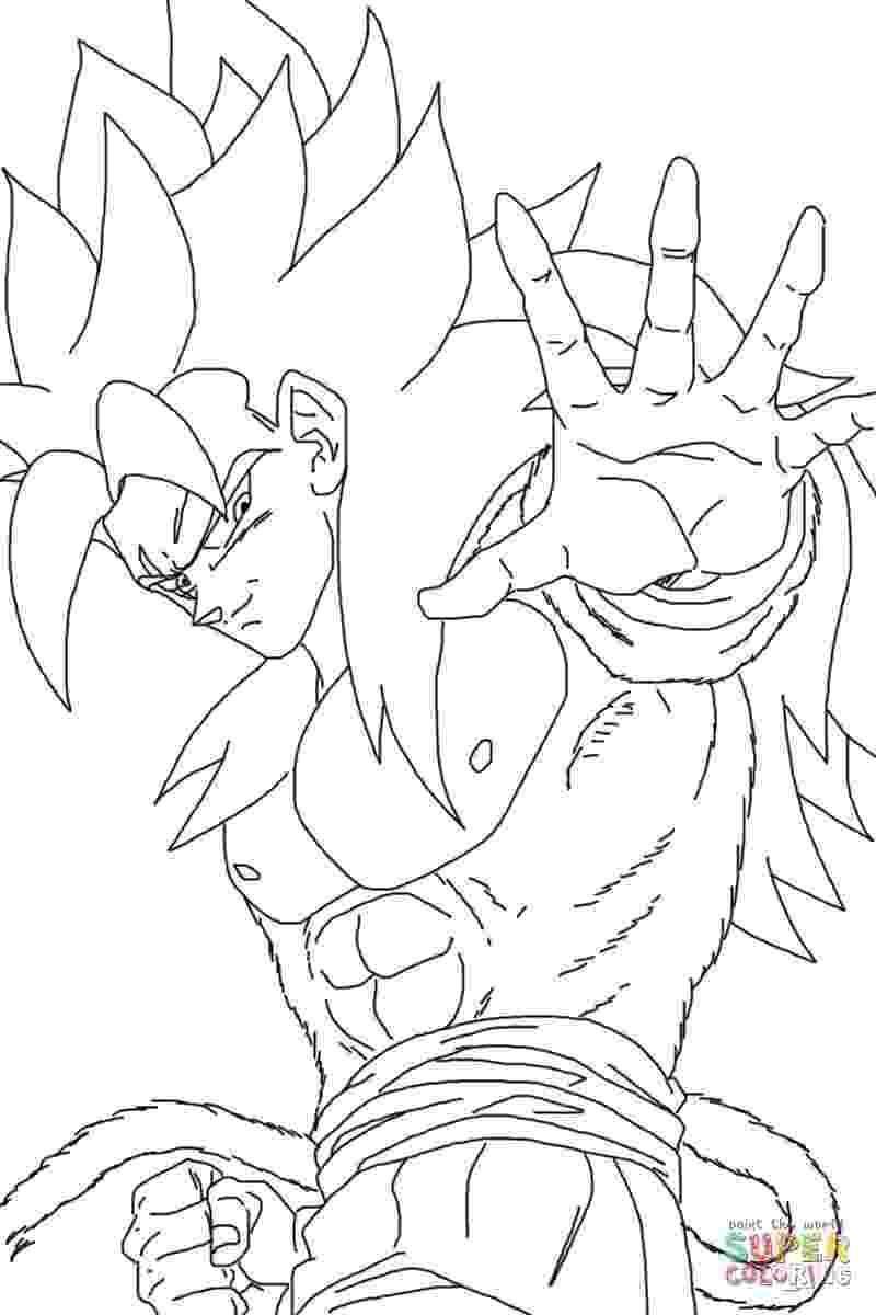 goku super saiyan 4 coloring pages super saiyan goku coloring pages goku super saiyan goku pages 4 saiyan goku super coloring