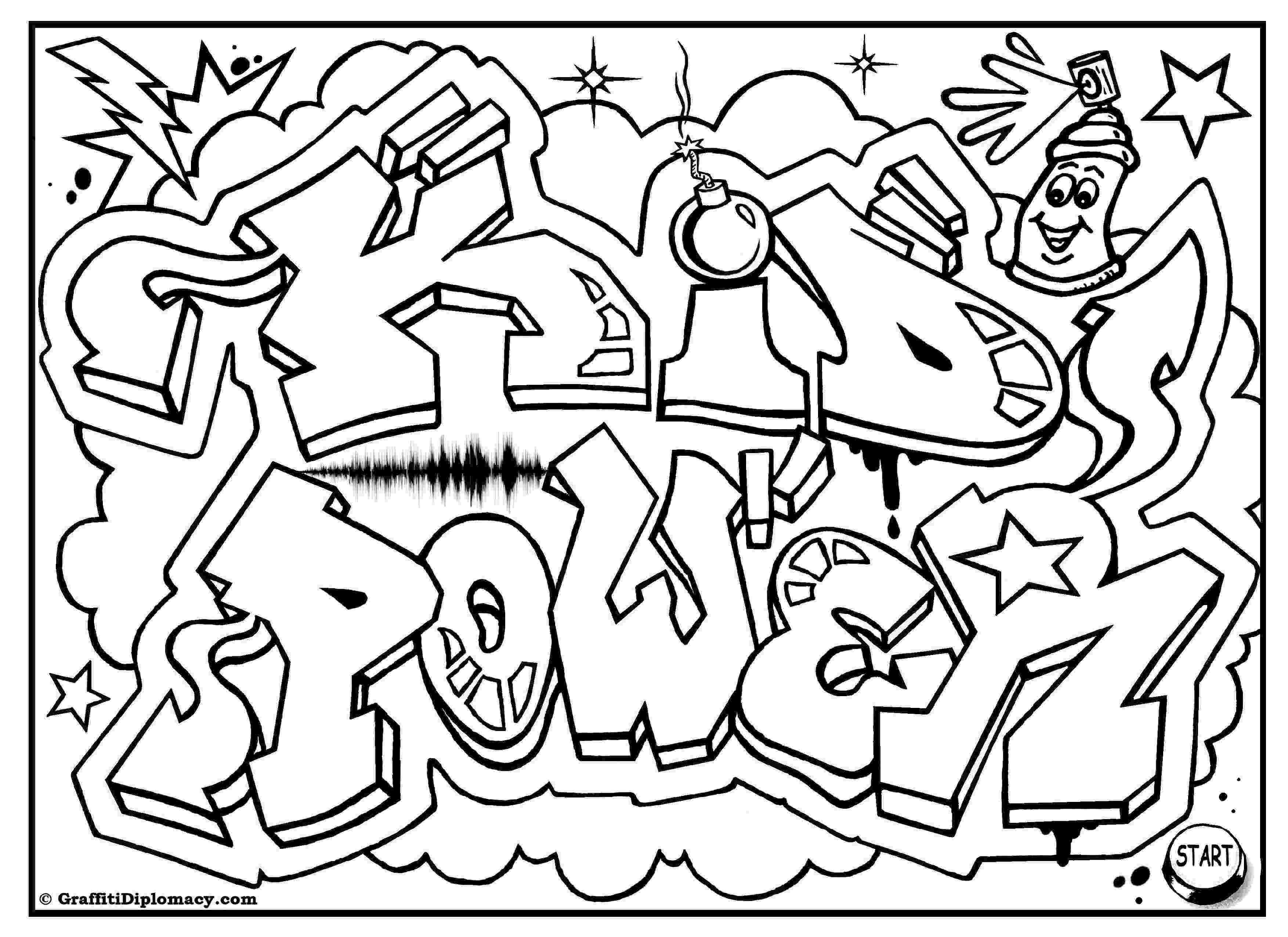 graffiti coloring expres graffiti coloring page free printable coloring pages coloring graffiti