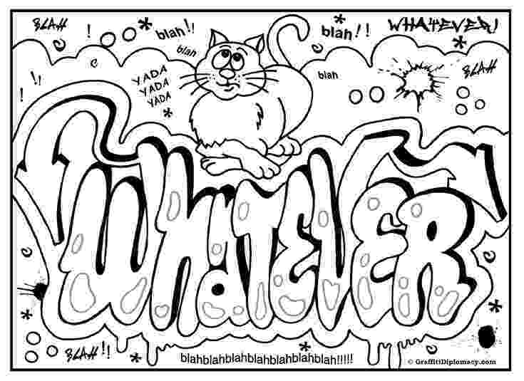 graffiti coloring graffiti coloring pages to download and print for free coloring graffiti 1 1