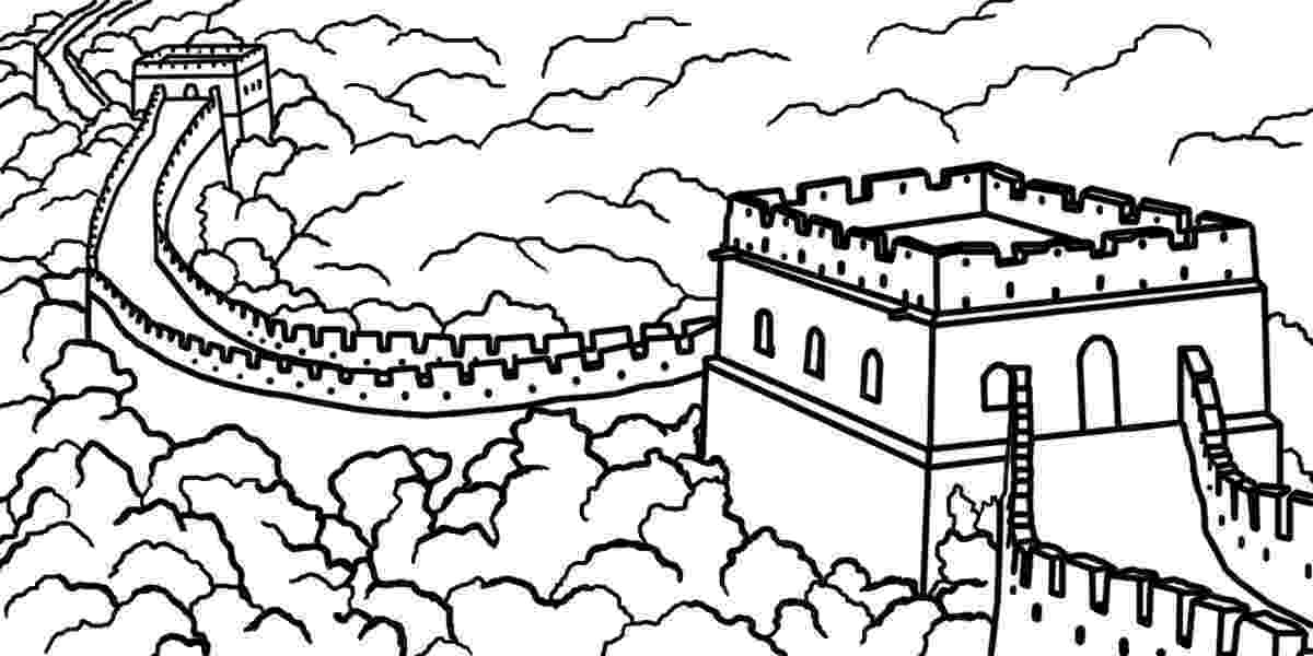 great wall of china coloring sheet great wall of china coloring page audio stories for kids of sheet wall great china coloring