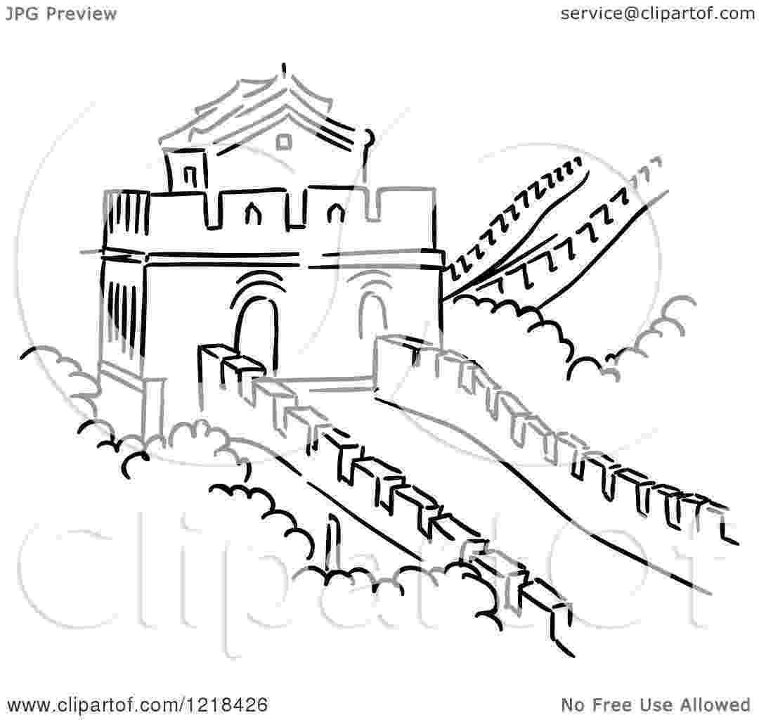 great wall of china coloring sheet great wall of china coloring page free others coloring of china coloring great sheet wall