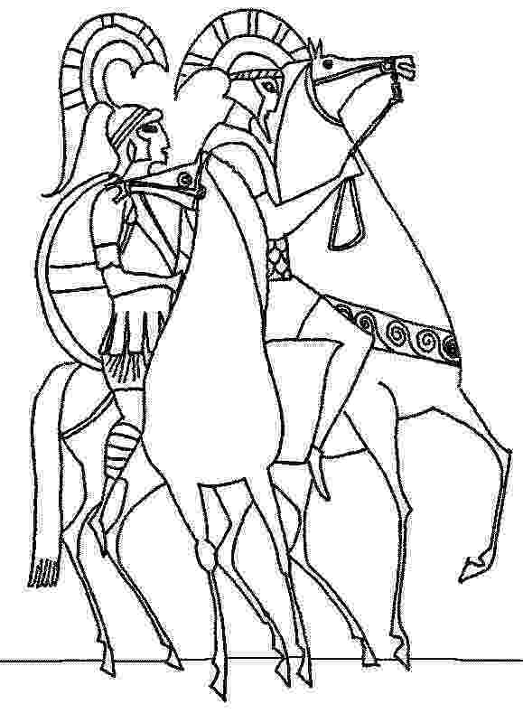 greek pictures to colour greek myths coloring page poseidon ancient greek art pictures to greek colour