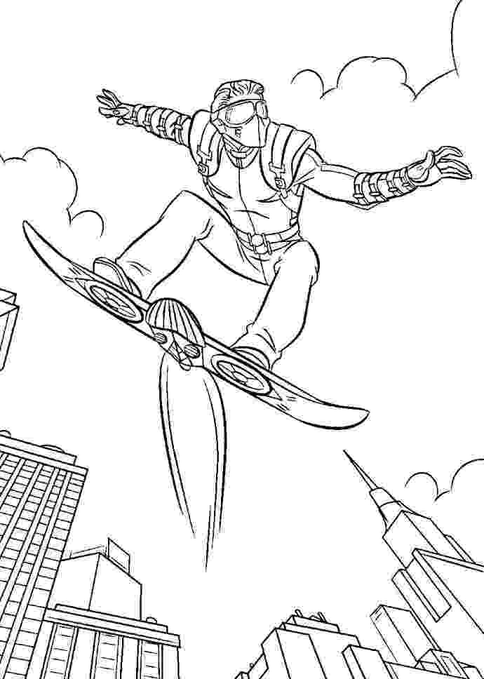 green goblin coloring pages green goblin spiderman and coloring pages on pinterest goblin coloring green pages