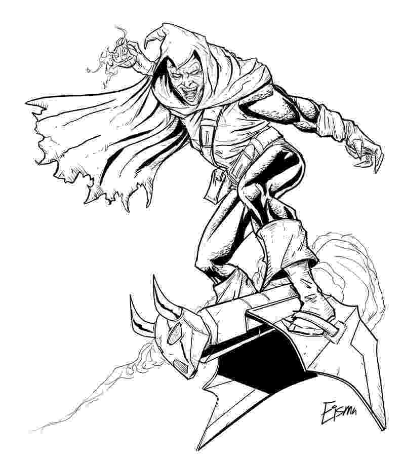 green goblin coloring pages spiderman green goblin coloring pages coloring home goblin pages coloring green 1 1