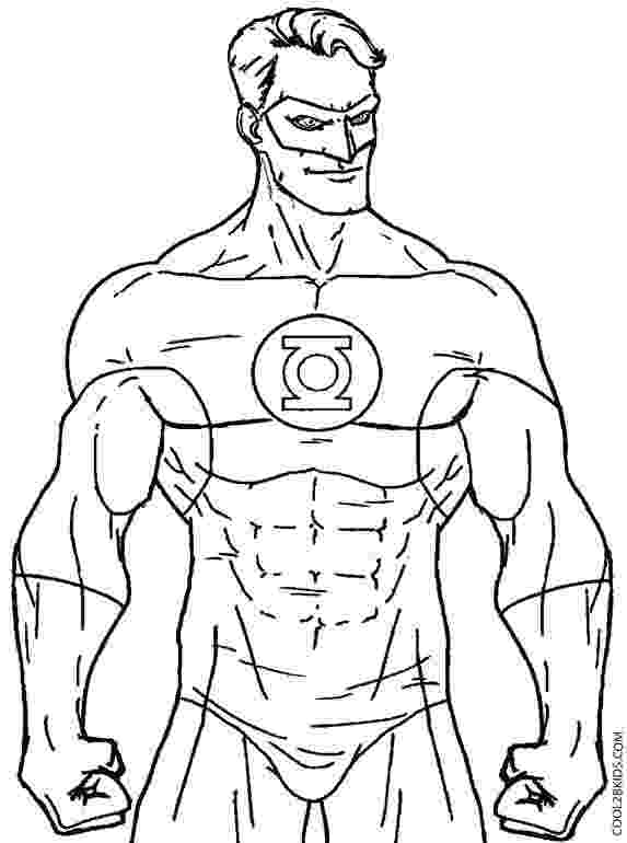 green lantern printable coloring pages green lantern coloring pages free printable coloring lantern green pages printable coloring